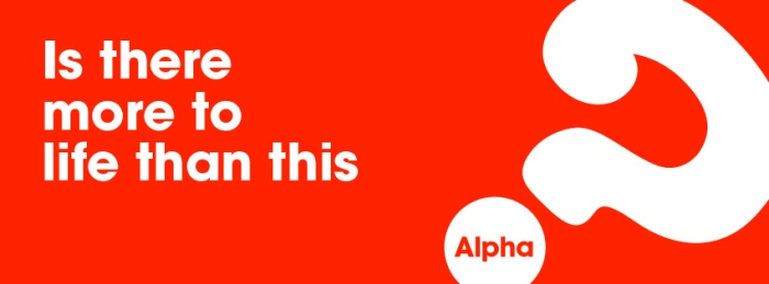 Is there more to life than this? Alpha course banner
