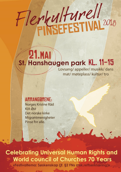 Pentecost Festival Poster 2018